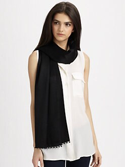 Bajra - Sequin Fringed Stole Scarf