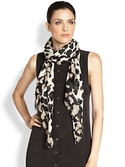 Burberry - London Animal Print Scarf