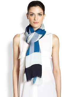 Burberry - Multi Stripe Scarf