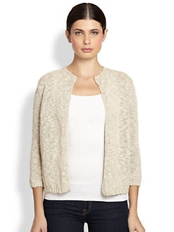 White + Warren - Cashmere Open Jacket
