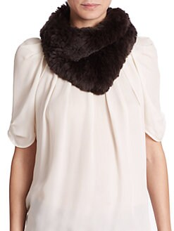 Glamourpuss - Rabbit-Fur Bandit Scarf