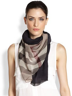 Burberry - Ombre Check Scarf