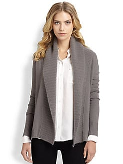 White + Warren - Cashmere Open Cardigan