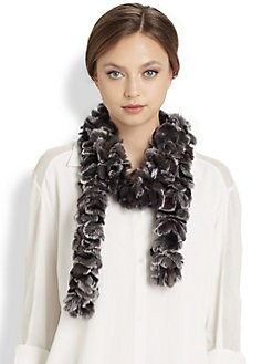 Trilogy - Skinny Rex Rabbit Loop Scarf