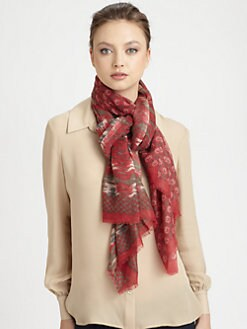 Petrusse - Printed Wool Stole