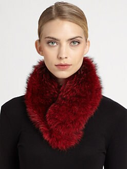 sherry cassin - Classic Fur Clip Collar