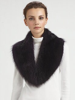 Pologeorgis - Raccoon Fur Collar