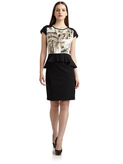 Suzi Chin - Abstract Print Dress