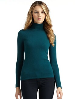 BLACK Saks Fifth Avenue - Cashmere Turtleneck