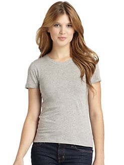 BLUE Saks Fifth Avenue - Slub Knit T-Shirt