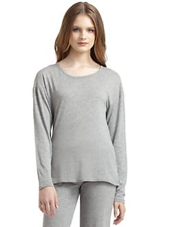 5/48 - Basics Long-Sleeve Tee/Grey