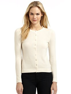 BLACK Saks Fifth Avenue - Classic Cashmere Cardigan
