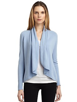 BLACK Saks Fifth Avenue - Cashmere Draped Cardigan