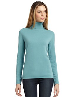 BLACK Saks Fifth Avenue - Cashmere Turtleneck Sweater