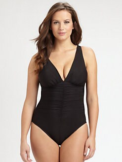 Miraclesuit Swim, Salon Z - One-Piece Sonatina Ruched Swimsuit