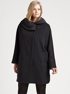 Cinzia Rocca, Salon Z - Oversized-Collar Coat