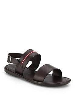 Bally - Perforated Leather Sandals