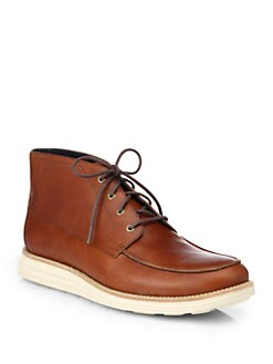 Cole Haan - Lunargrand Leather Chukka Boots
