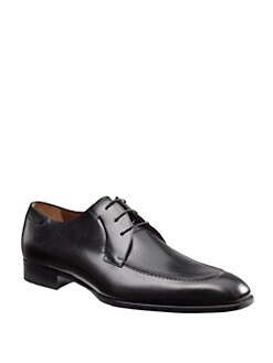 A. Testoni - Leather Lace-Ups
