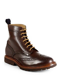 Brunello Cucinelli - Brogue Wingtip Boots