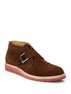 Cole Haan - Suede Chukka Boots