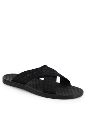 Rubber Criss Cross Sandals