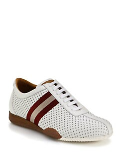 Bally - Perforated Leather Sneakers