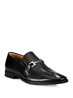Bally - Perforated Leather Loafers