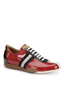 Bally - Freenew Patent Leather Sneakers