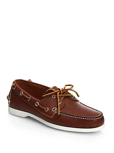 Telford Leather Boat Shoes