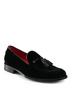 Harrys Of London - Shelley Leather Tassel Loafers