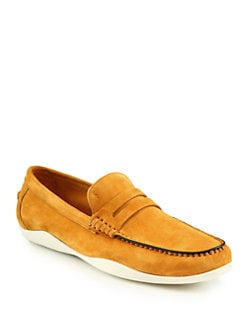 Harrys Of London - Basel 2 Suede Loafers