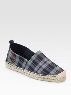 Ralph Lauren - Bowsworth Plaid Espadrilles