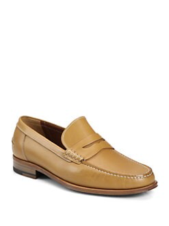 A. Testoni - Leather Loafer