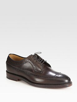 Ralph Lauren - Burnished Leather Brogue Lace-Ups