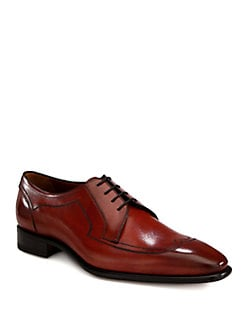 A. Testoni - Blucher Wingtip Lace-Up