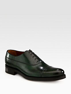 A. Testoni - Double Sole Captoe Lace-Up