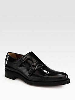 A. Testoni - Double Monkstrap Slip-On