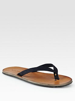 Ralph Lauren - Paxhill Cotton Thong Sandal
