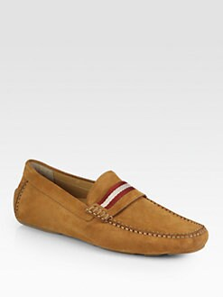 Bally - Rhum Suede Drivers