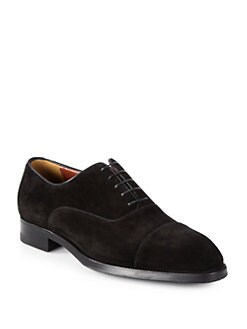 A. Testoni - Casual Suede Lace-Ups