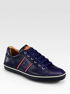 Bally - Olbia Perforated Leather Sneaker