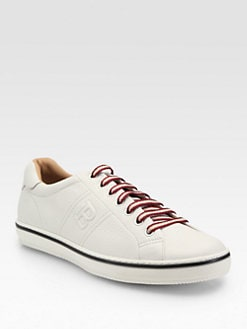 Bally - Clean B Leather Sneakers