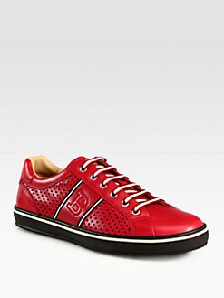 Bally - Perforated Leather Sneaker