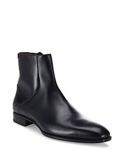 A. Testoni - Side-Zip Ankle Boots