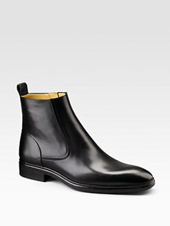Bally - Dress Leather Ankle Boots