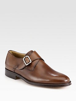 Bally - Akar Leather Monkstrap