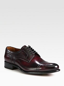 A. Testoni - Medallion Captoe Blucher