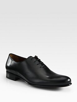 A. Testoni - Leather Lace-Up
