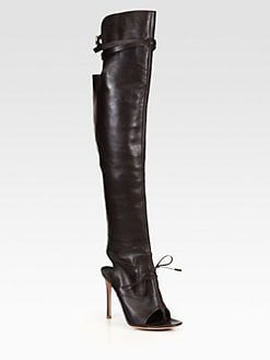 Altuzarra - Leather Over-The-Knee Boots